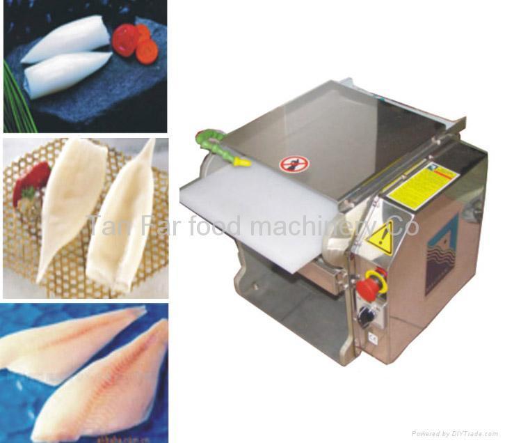 China fish skinner tf 380 china fish skinner fish for Fish skinner machine