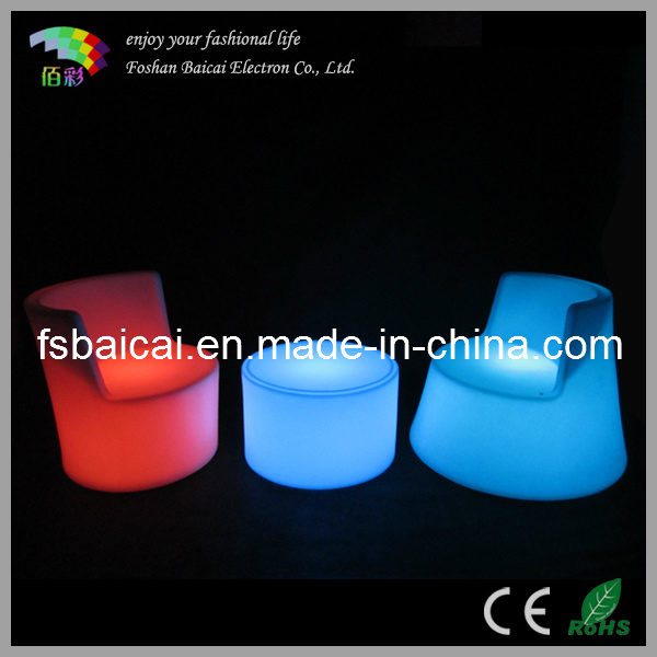 Glowing LED Furniture with Light Color Change & Remote Control