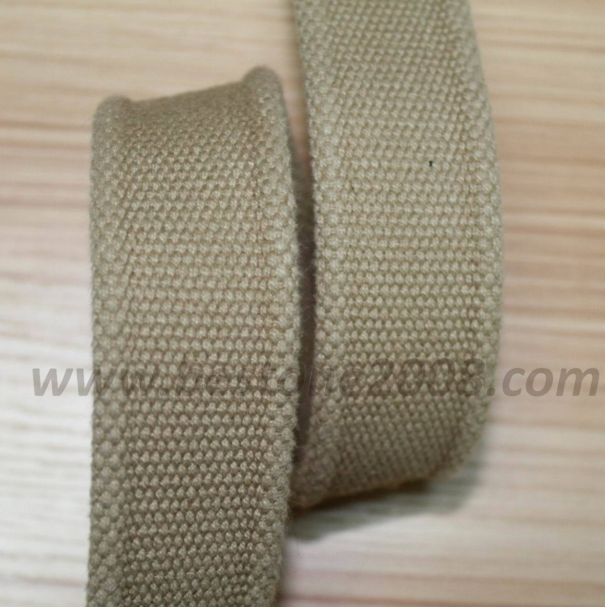 Factory High Quality Cotton Ribbon for Bag/Garment #1312-26