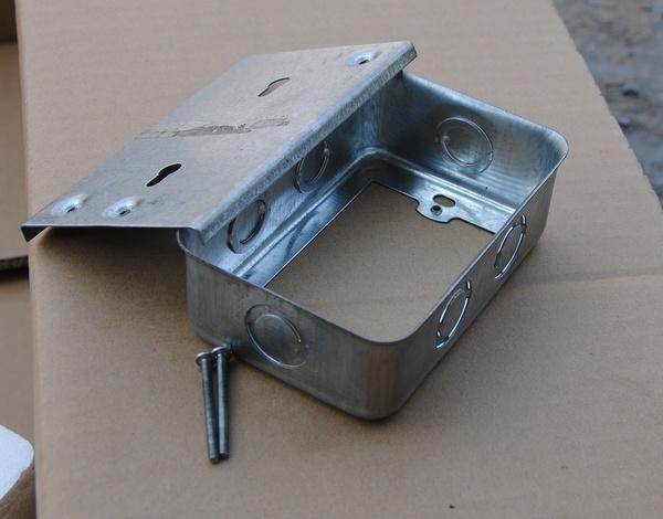 Rectangular conduit boxes china box steel