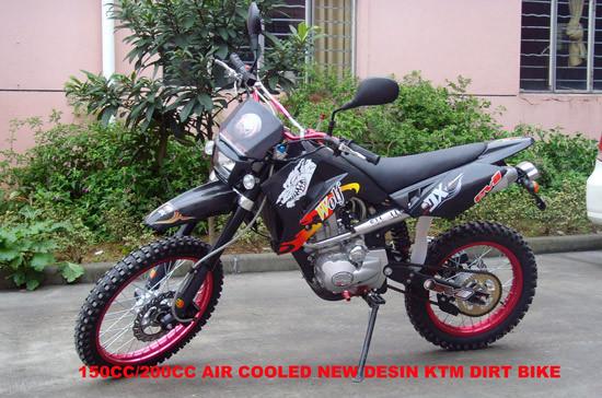 150CC / 200CC KTM Dirt Bike (WV-DB045)