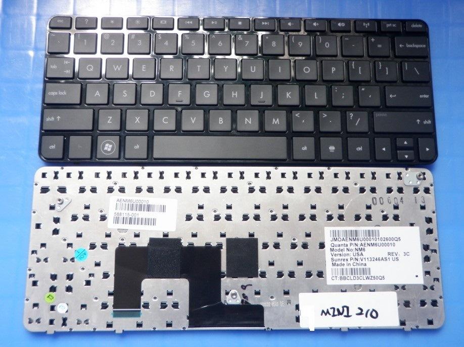 Brand New Laptop Keyboard for HP Mini 210-3000 210-3100 Us Notebook Keyboard