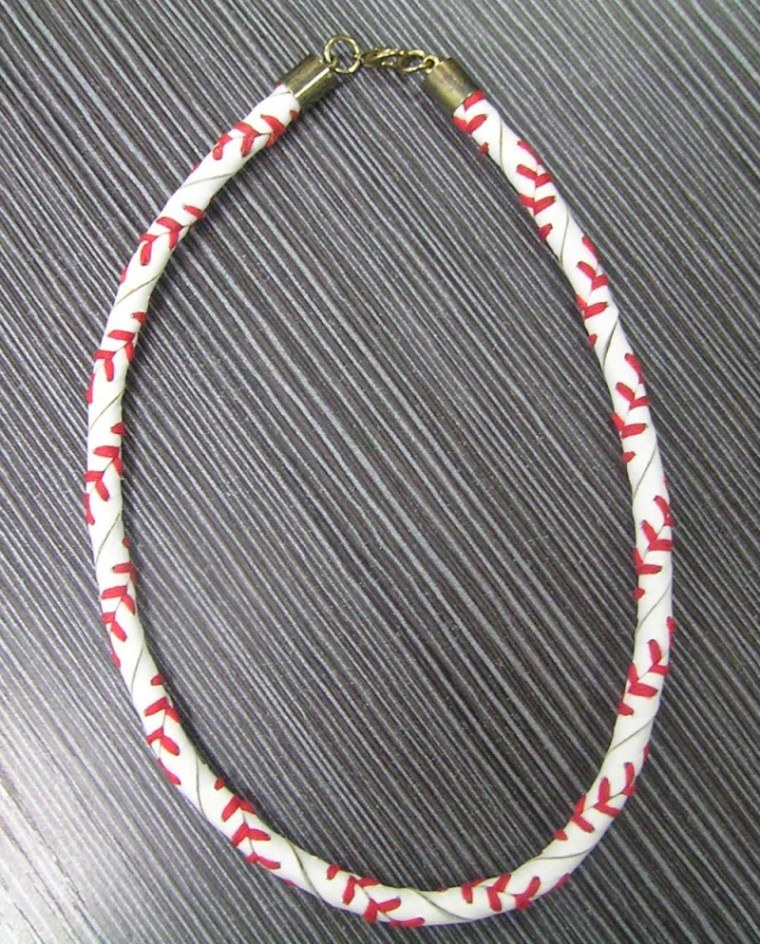 Silver Baseball Necklaces. Showing 40 of 92 results that match your query. Search Product Result. Product - 20Inch Necklace Curb Chain With Lobster Claw Clasp (3-Chain Value Bundle), SAVE $2. Product Image. Price $ 6. Product Title.