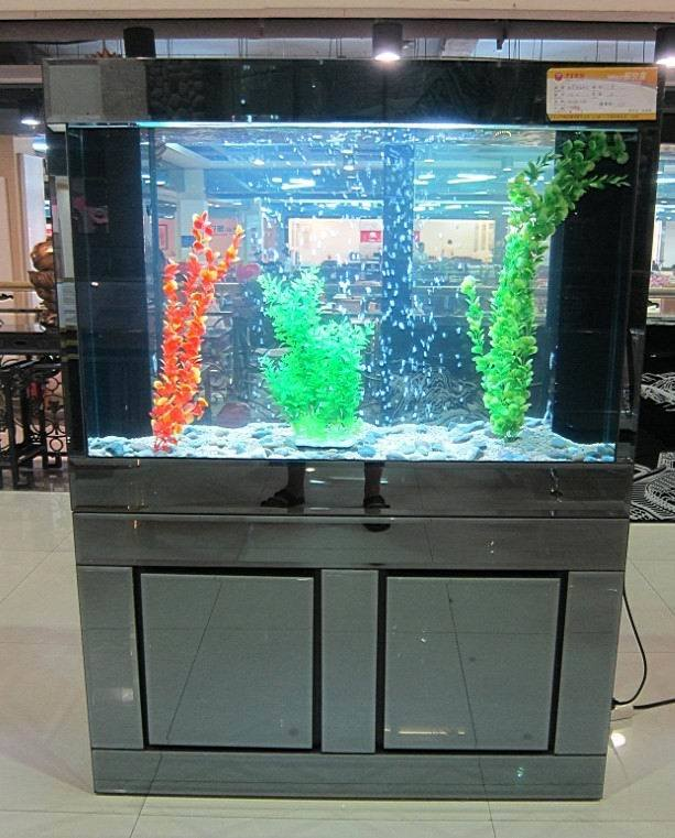 ... Glass Aquariums, Silver Glass Decoration Fish Tank - China Aquariums