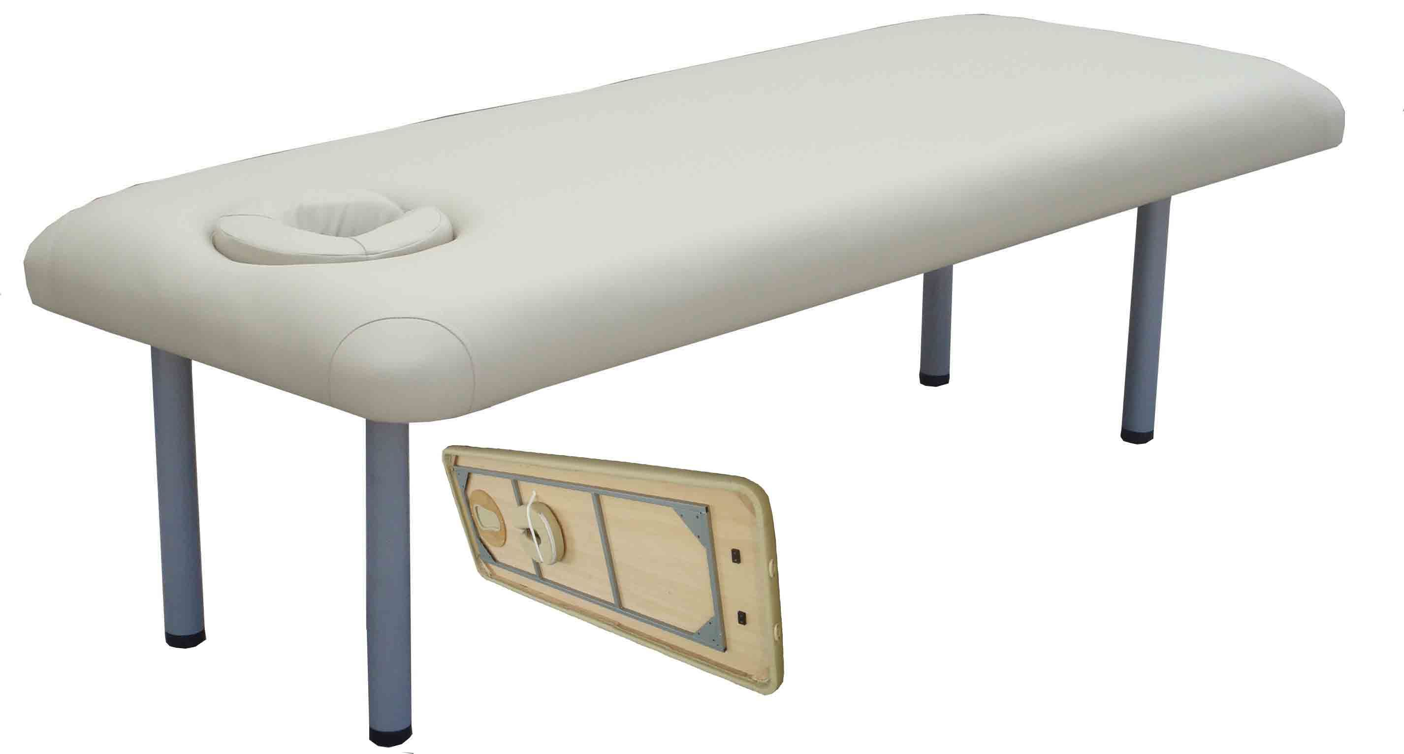 how to build a stationary massage table