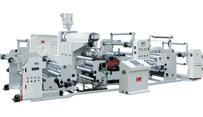 GSFM Series Compound Unit of Speedy Extrusion, Pure Aluminum Foil Laminating Machine, High Speed Laminating Machine