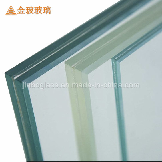 Ce Approved Tempered Colored Laminated Tempered Glass (JINBO)
