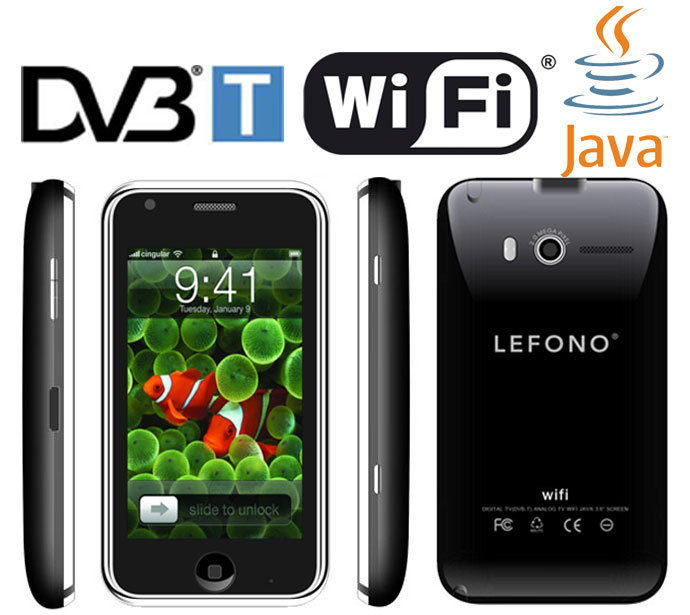TV DVB-T WiFi Java Mobile Phone, Cell Phone (L007) - China Cell Phone ...