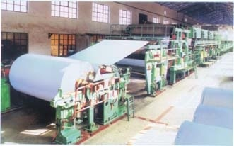 1575 Single-Cylinder and Single-Mesh Double-Felt Paper Machine