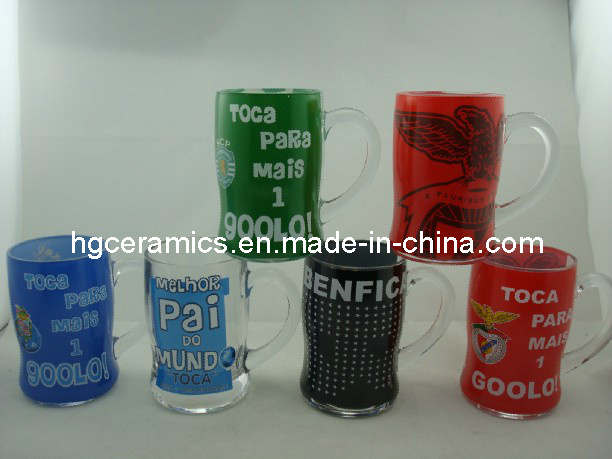 Promotional Glass Mug, Glass Beer Stein