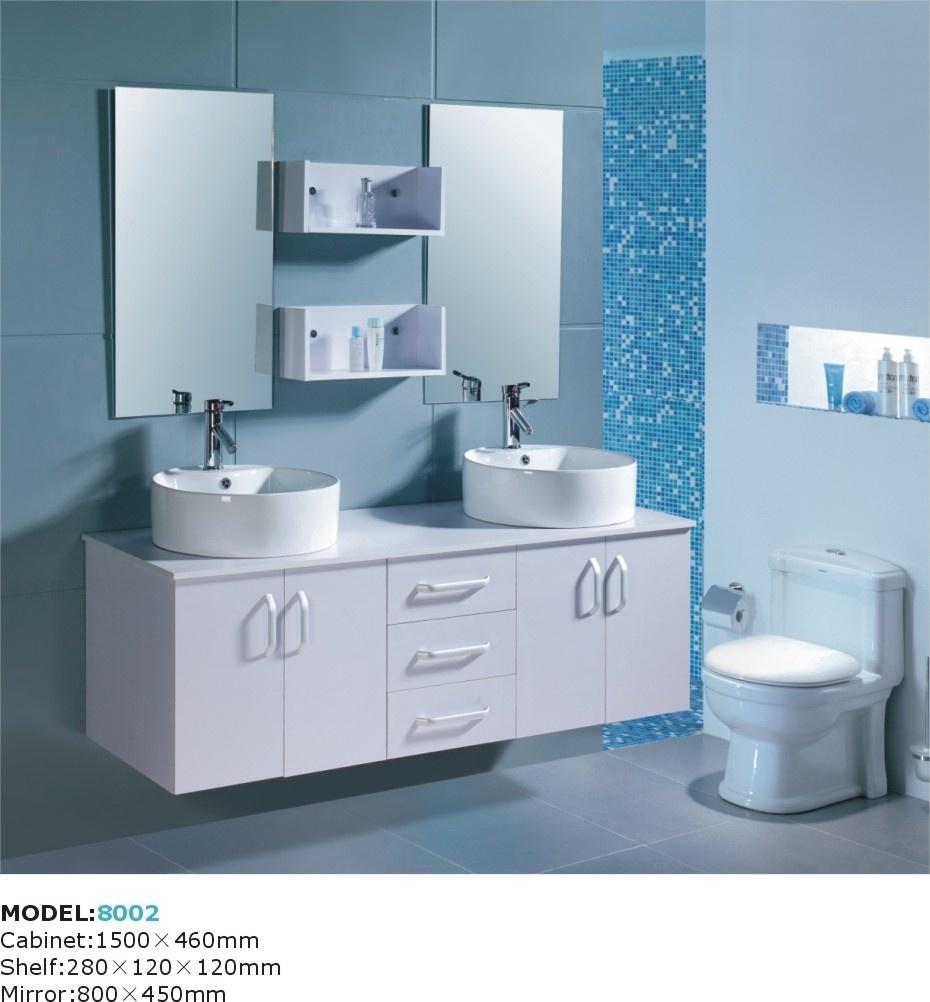 China pvc bathroom cabinet bath vanity yqon8002 china for Bathrooms in china