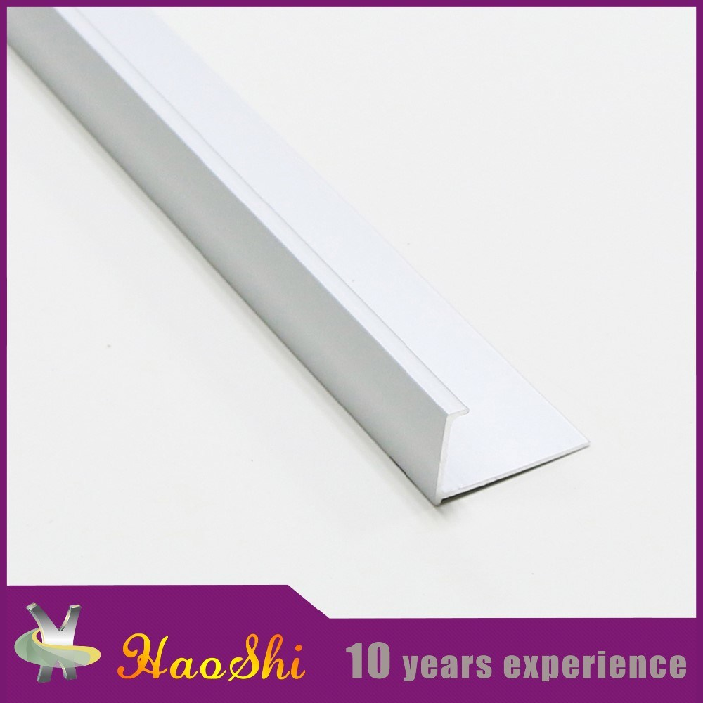 Decorative Aluminum Rounded Stair Nosing Foshan Ceramics Tiles