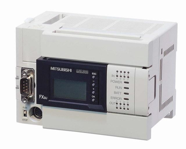 China Mitsubishi Fx3u Series PLC (FX3U-16~128MT/ES-A) - China Mitsubishi 3u Series Plc, Plc