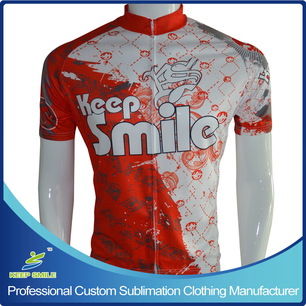 Custom Made Sublimation Sports Cycling Wear