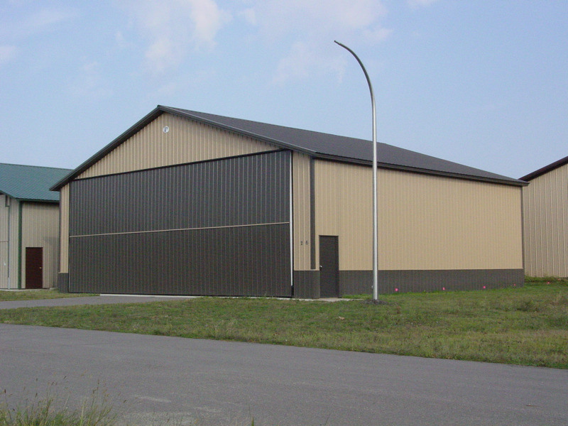 Steel Fram Warehouse