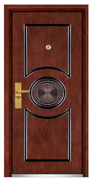 Steel Wooden Door (FXGM-B207)