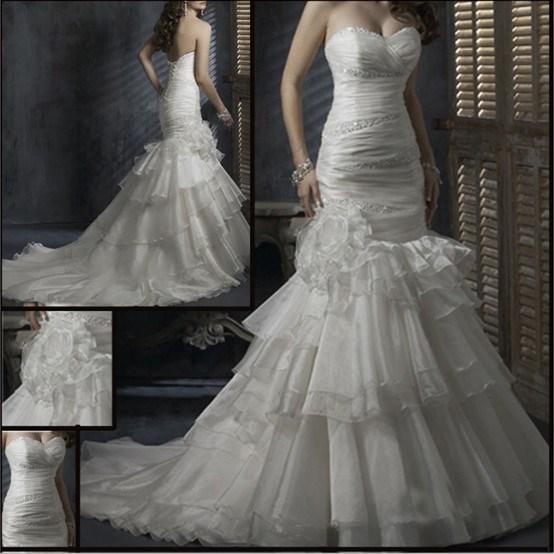 China Fabulous Wedding Dress (W008)