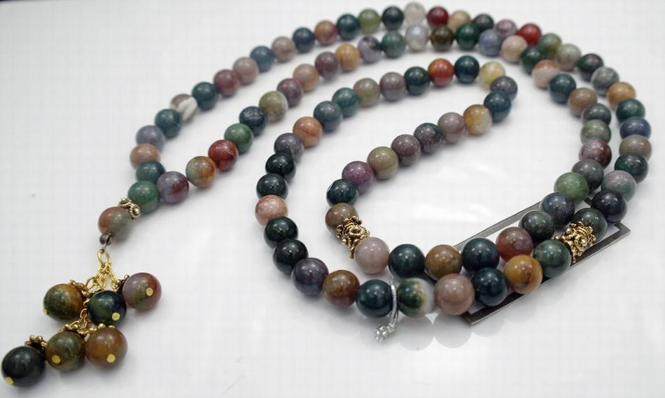 china fashion muslim prayer beads necklace bdn5387