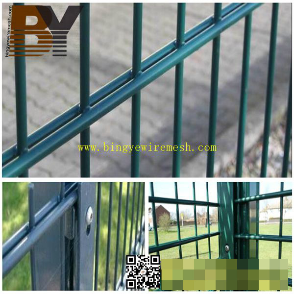 358 Anti Climb Security Double Wire Mesh Garden Prison Temporary Brc Steel Fence