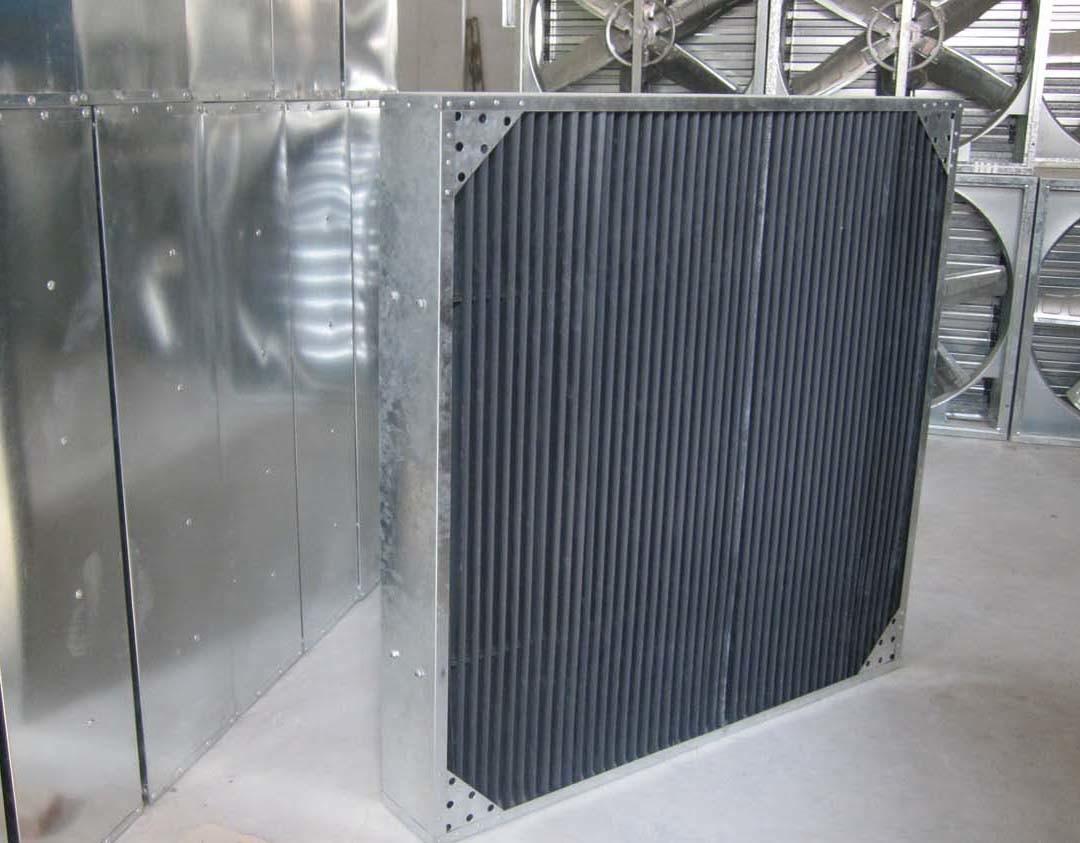 Greenhouse Shutter Fans : Light trap exhaust fan greenhouse ariculation cooling