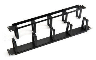"19"" Cable Manager for Server/Network Rack Cable Routing"