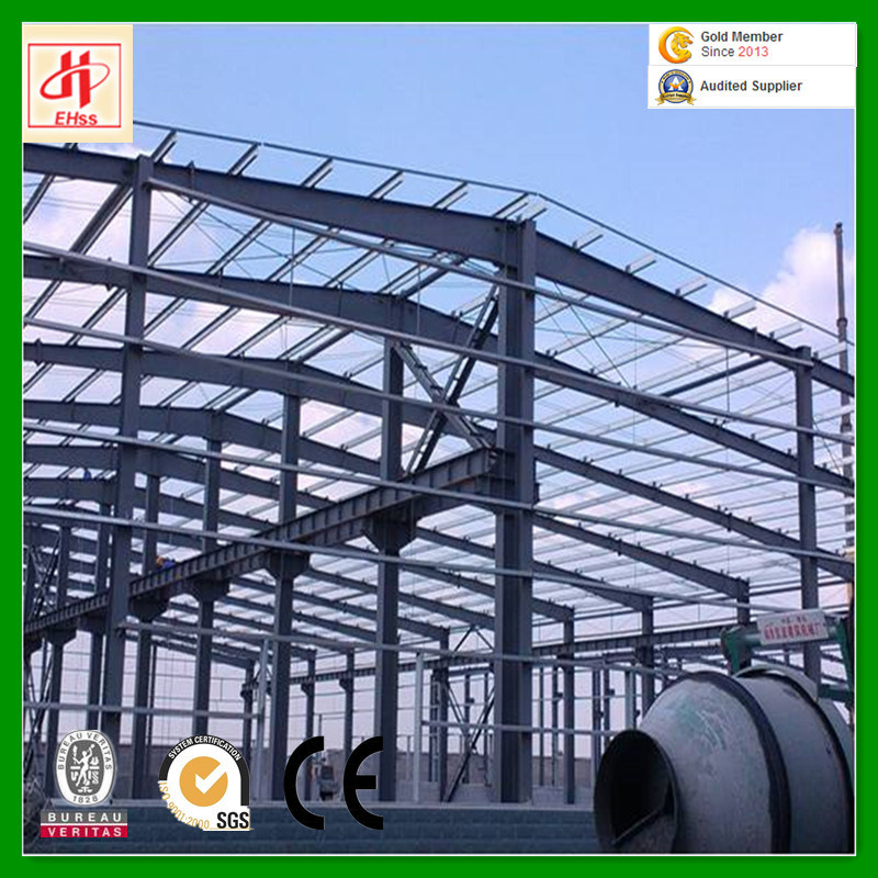 Light Portal Steel Structure Prefab Warehouse