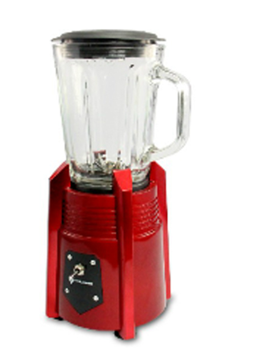New Arrival! ! Red Painted 500W 1.25L Glass Jar Juicer Blender