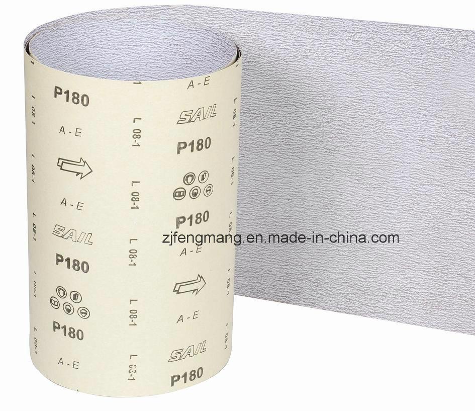 E-Wt Craft Paper Semi-Friable Aluminum Oxide Abrasive Paper/Sandpaper Ae-Zn