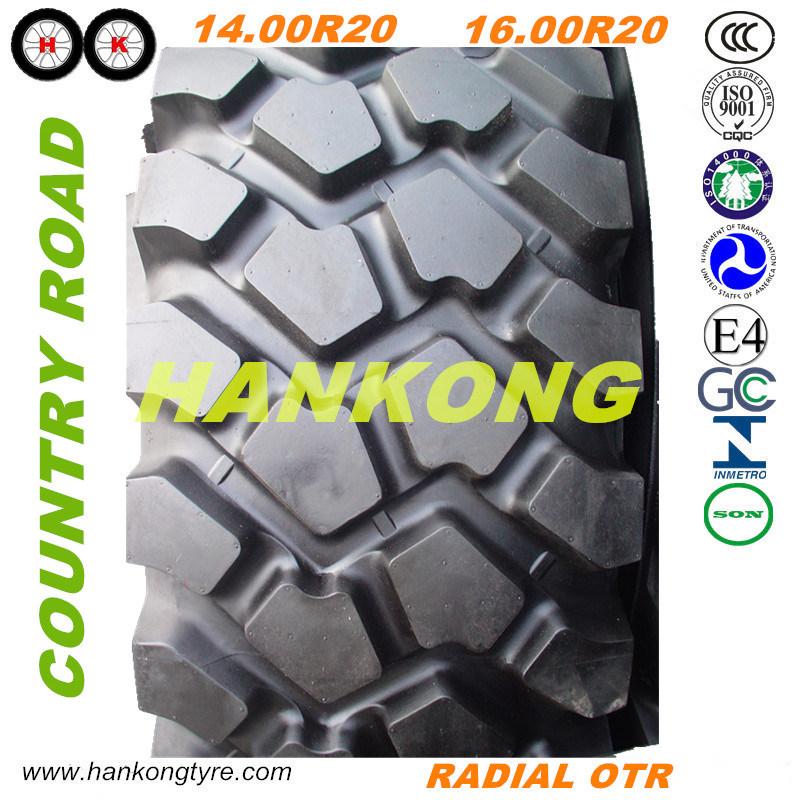 Heavy Truck Tire Mining Truck Tire off Road Tire (12R22.5, 14.00R20, 14.00R24)
