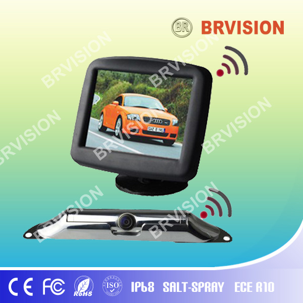 Wireless Rearview System 3.5 Inch Monitor