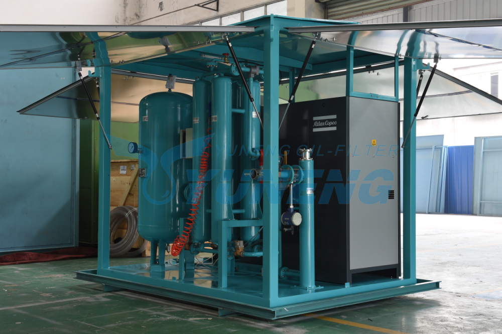 Transformer Drying Equipment by Special Filters
