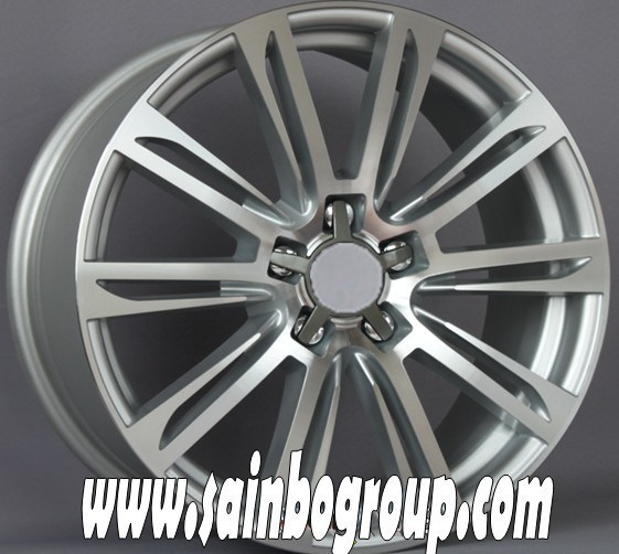 F1030 Hot Sale Vacuum Chrome Replica Alloy Wheels