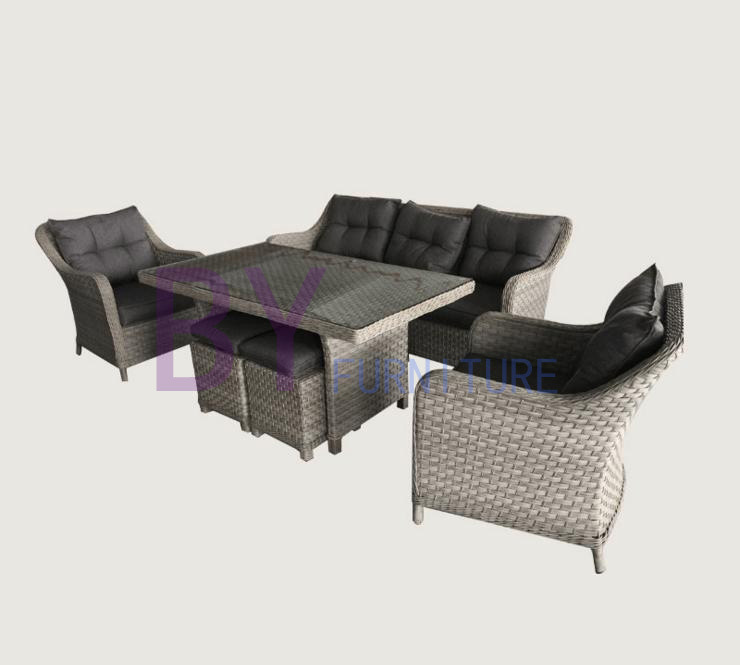 Outdoor Rattan/ Wicker Garden Furniture Set and Patio Furniture