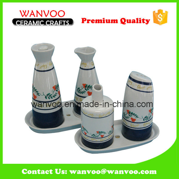 Kitchen Decorative Ceramic Salt and Pepper Shaker
