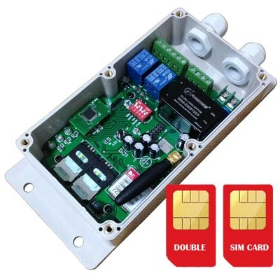 GSM Remote Controller for Automatic Door/Gate