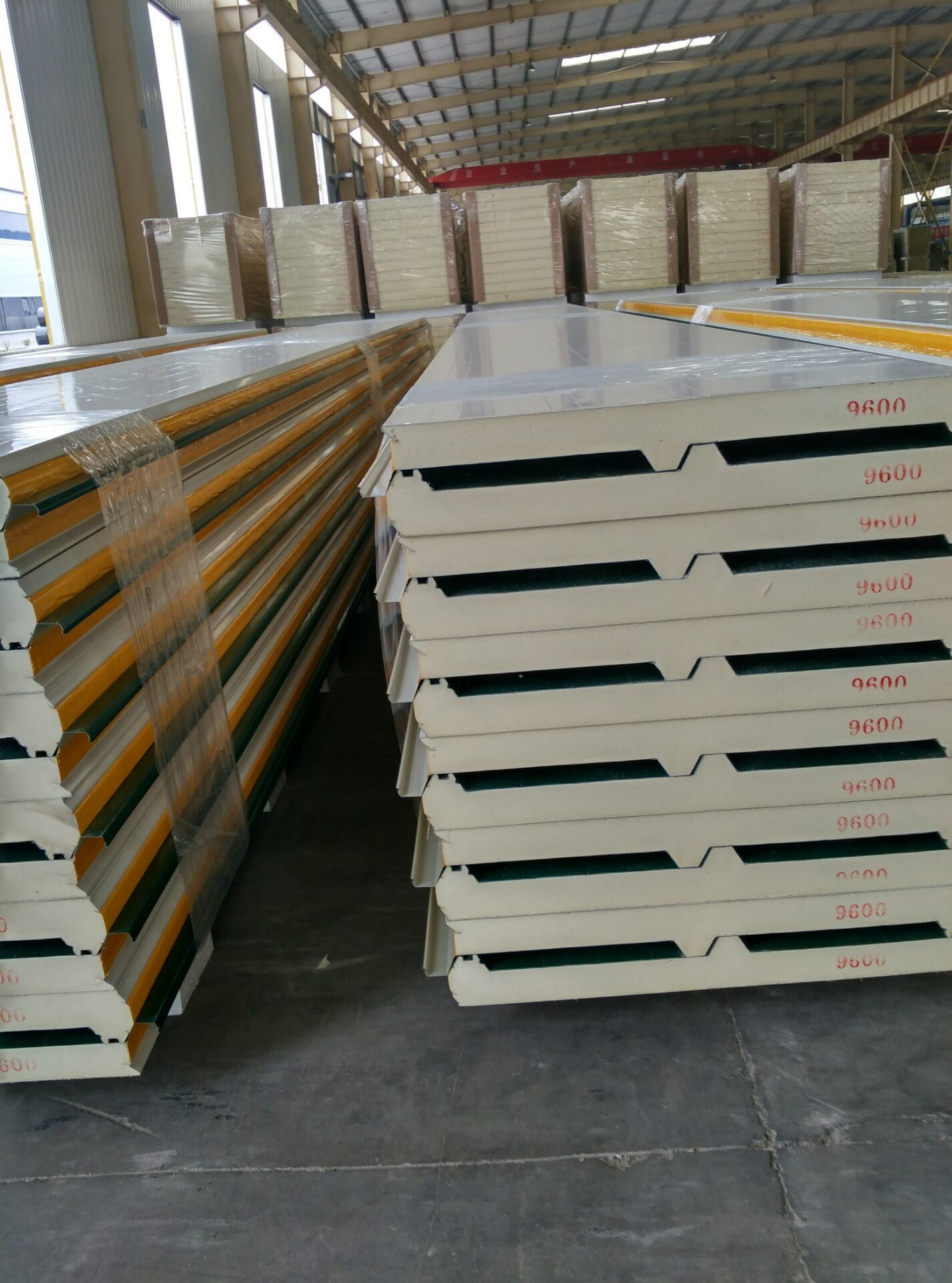 Economical Hot Sale Reused Eneergy-Saving PU Sandwich Panel for Building Materials