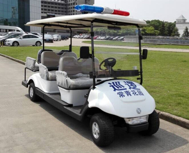 6 Seats Electric Golf Cart for Patrol and Crusier Wholesale
