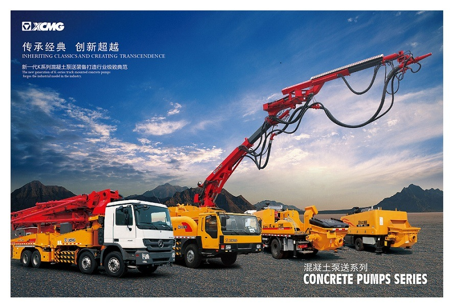 XCMG Official Manufacturer Hb37b 37m Truck Mounted Concrete Pump