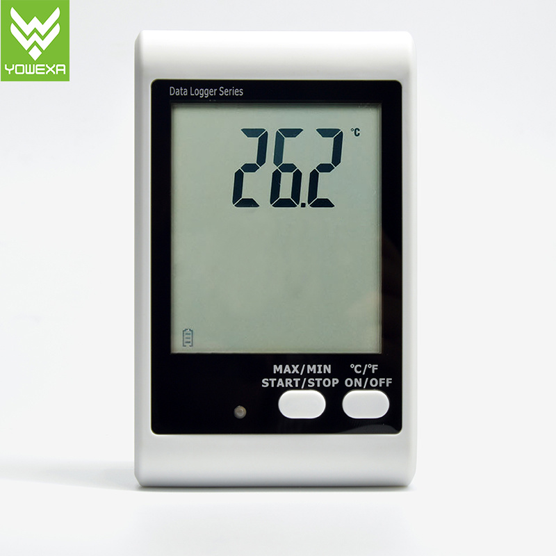 Dwl-11, High Precision Sound and Light Alarm Temperature Data Logger with LCD Display