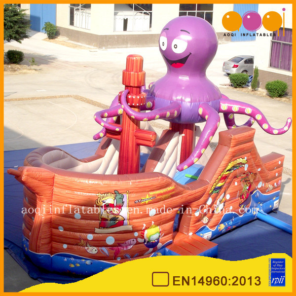 Octopus Ship Inflatable Pirate Boat for Amusement Park (AQ0128)
