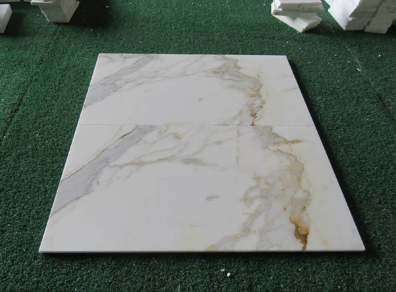 Calacatta Golden Marble, Marble Flooring Tile for Kitchen