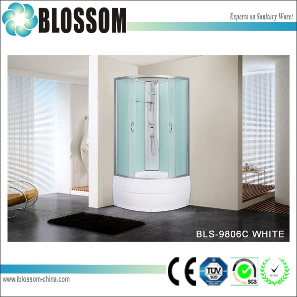 High Quality Complete Shower Room Shower Cabin (BLS-9806C WHITE)