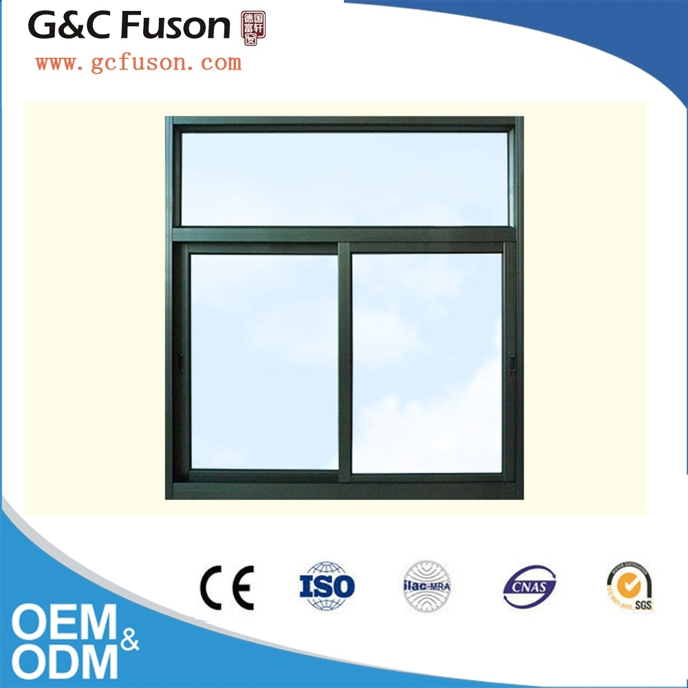 Aluminium Horizontal Sliding Window Can with Fly Screen