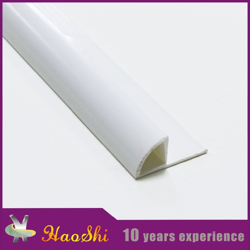 PVC Flexible Plastic Tile Trim for 6-12mm Height