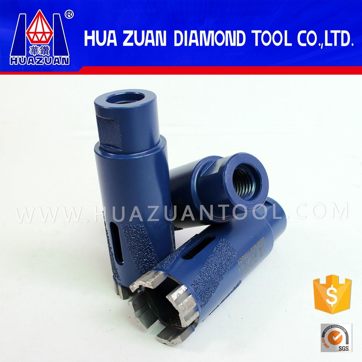 35mm Wet Brazed Diamond Drill Bits