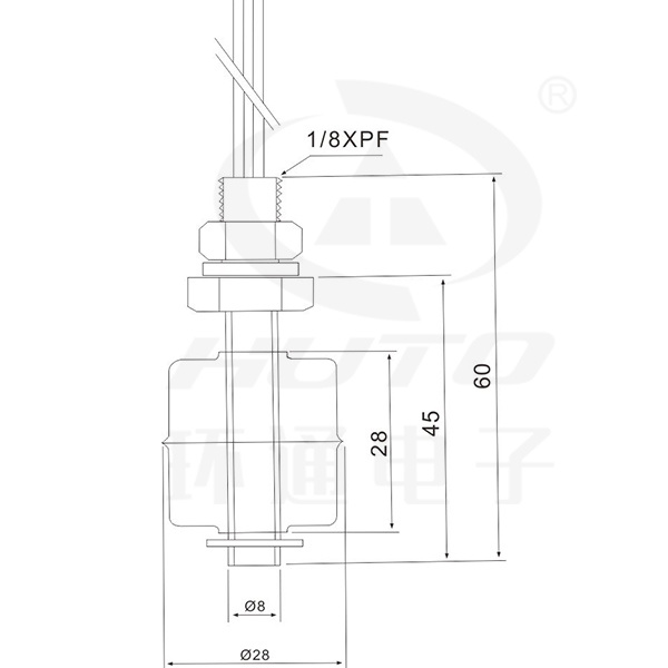 Mini Stainless Steel Float Switch