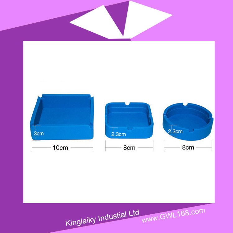 Silicone Ashtray with Branding Logo Nsb-008