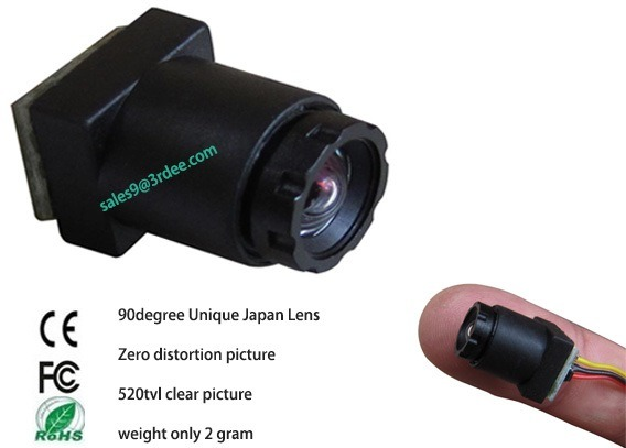 Factory Price Super Mini CCTV Security Camera for Hidden Surveillance Size Is 11.5.5X11.5X25mm Only, Weight Is 2g!