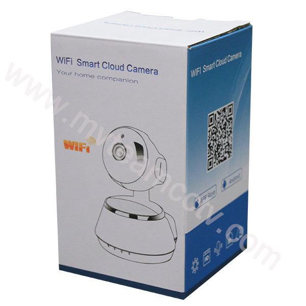 Two-Way Intercom P/T 720p Webcam Wireless WiFi Smart Cloud IP Camera (H100-Q6)