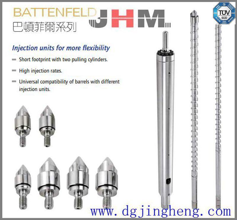 Battenfeld Injection Molding Machine Screw Barrel